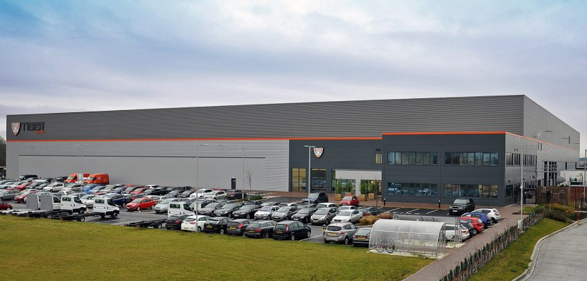Tiger Trailers celebrates first anniversary at prestigious new site