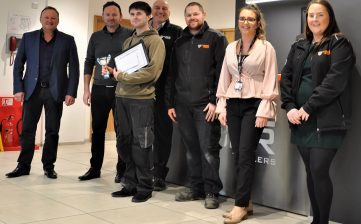Alan Cartwright apprentice awards 2019 - Giovanni