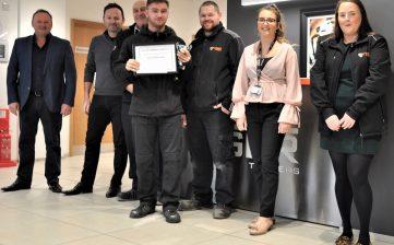 Alan Cartwright apprentice awards 2019 - Jack