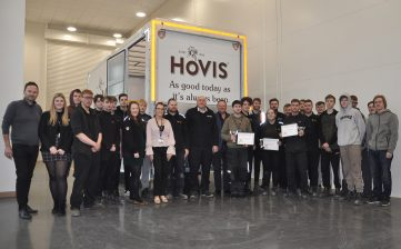 Alan Cartwright manufacturing apprentices - Tiger Cheshire